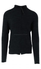 Hannes Roether Strickjacke ni10bbe 130 black/moss  2