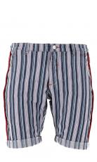 Barb'one Chino Bermuda wide stripes 3