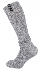 SOXS Kniehohe Herrensocken aus Wolle (Jet Black High) Gr.42-46