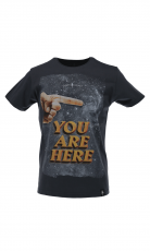 Dirty Velvet T Shirt You Are Here 2