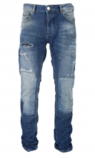 Gabba Jeans Rey P4183 Mid Patched 1