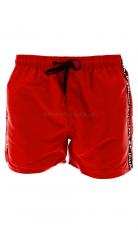 Muchachomalo Swimshort Solid red