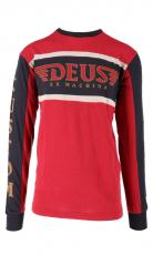 DEUS Ex Machina Ruben Moto Jersey chilli red
