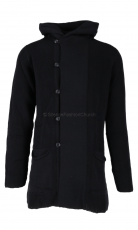 Hannes Roether Strickjacke tu12re black 1