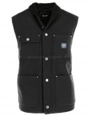 DEUS Ex Machina Earl Canvas Vest black 1