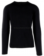 Hannes Roether Herren Pullover won10der black 3 1