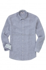 Lucky de Luca Men s Shirt Nyro grey 2