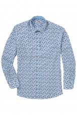 Lucky de Luca Men s Shirt Mussel Mix Print 2
