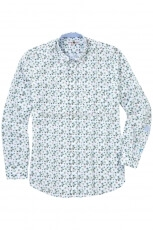 Lucky de Luca Men s Shirt Palm Print 2
