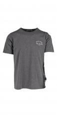 Kytone T-Shirt Stay Free Till Death grey melange  2