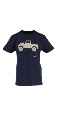 DEUS Ex Machina Carby Landie Tee navy 2
