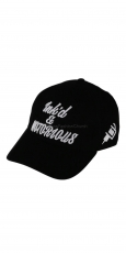 Lauren Rose Ink´d and Notorious Fashion Fit Strapback black