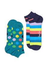 Happy Socks 2-Pack Big Dot Low 1 2
