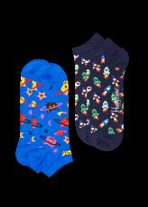 Happy Socks 2-Pack Space Cat Low 1 2
