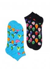 Happy Socks 2-Pack Banana Low 1 2