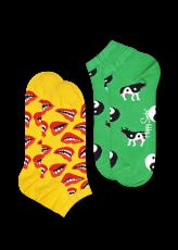 Happy Socks 2-Pack Lip Low 1 2