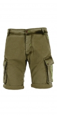 Barb'one Chino Bermuda Shady military 3