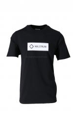 MA.STRUM Icon Box Logo Tee Jet Black 1