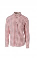 Luis Trenker Bodo Vichy Hemd creme-pink 1