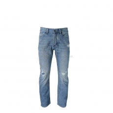 Denham The Jeanmaker Crop WLRJ Denim 1