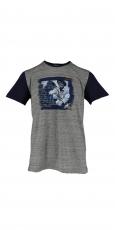 Luis Trenker T Shirt Conrad grau dunkelblau 1