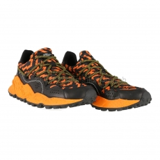 Flower Mountain Raikiri Man Nylon/Calf  black/orange 1