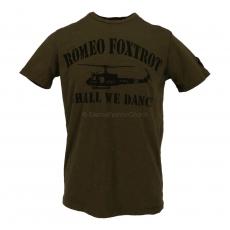 Johnson Motors  Romeo Foxtrot olive drab