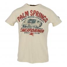Johnson Motors  Palm Springs dirty white