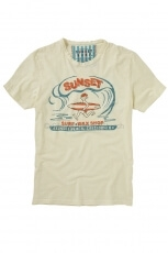 Sunset Surf Surf & Wax dirty white 1