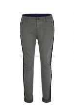 Barb'one Chino Man stone grey Garbardine 97 1