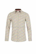 Lucky de Luca Men s Shirt Airplane Print 1