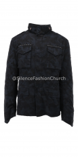 MASON'S Field Jacket Stacc nero