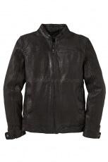 Gabba Benton Leather Jacket black 1
