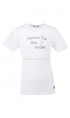 Fleurs de Bagne Shirt Mauvaise Tete white