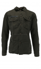 Le Temp de Ceries Hemd Dylan military green khaki 1