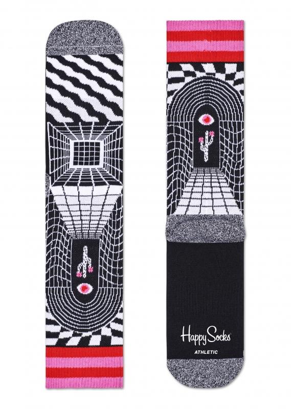 Happy Socks Athletic Illusion Crew 1 2