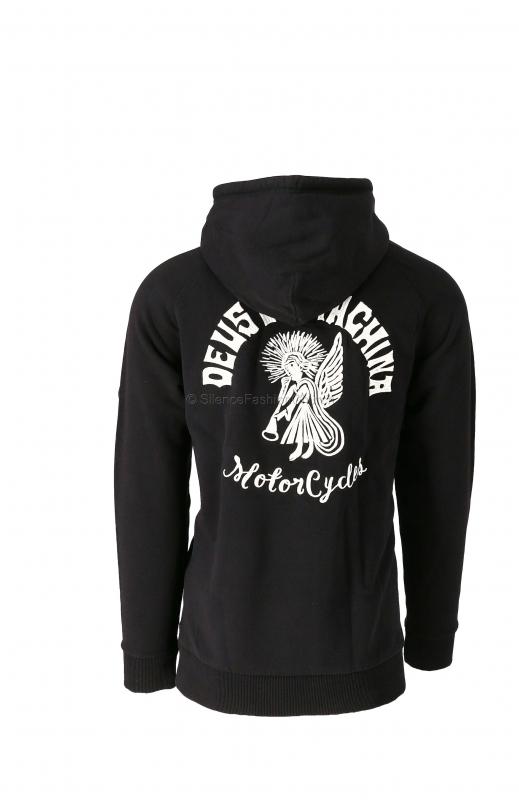 DEUS Ex Machina Devil Adress Hoodie black 1